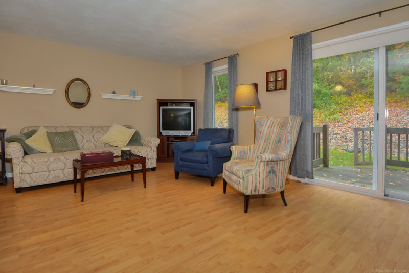 Living Room at Country Hollow Village Townhouse Haverhill