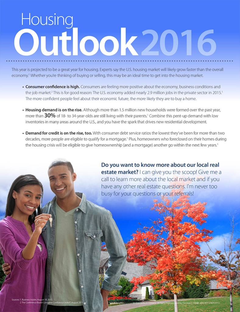 Real Estate Housing Outlook 2016