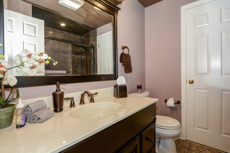 Bathroom at Country Hollow Village Haverhill Condo For Sale