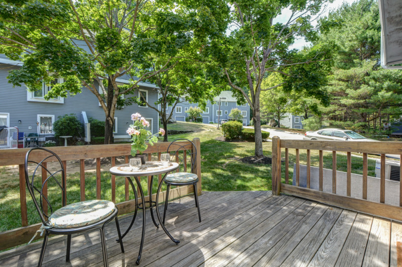 Back Deck at 36 Country Hollow Ln Haverhill MA