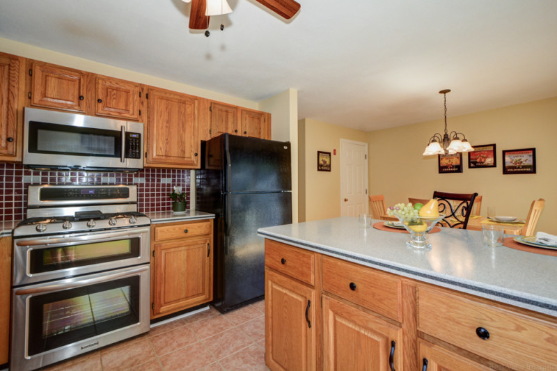 Kitchen at Country Hollow Village Haverhill MA