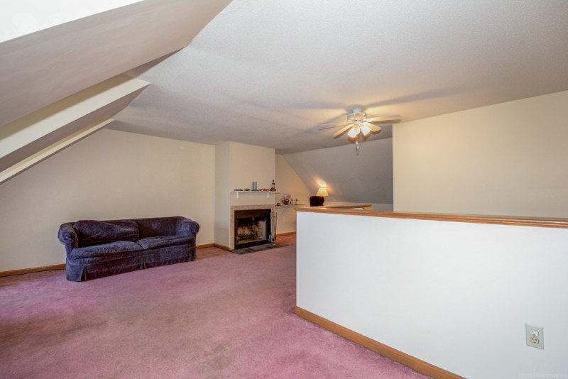 3rd Floor Bedroom with Fireplace - Merrimack Meadows Tewksbury