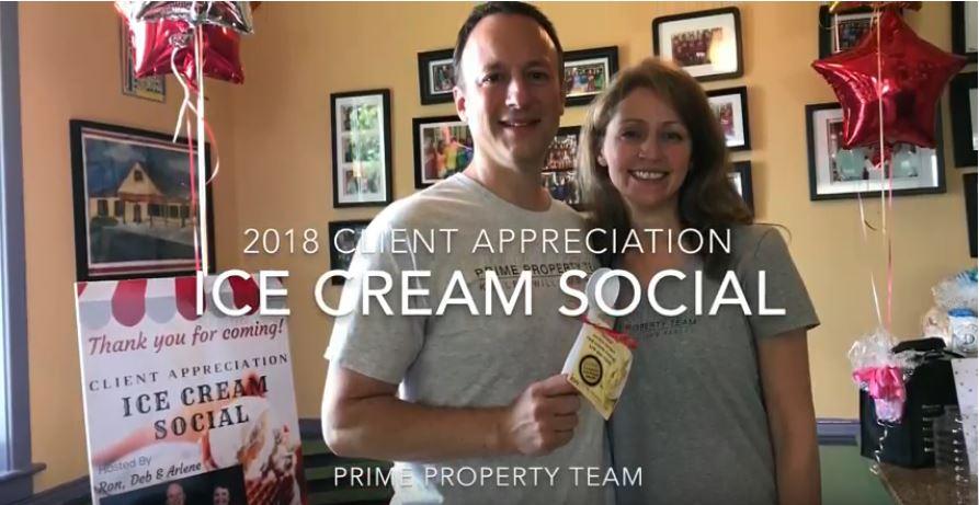 Client Appreciation Ice Cream Social 2018