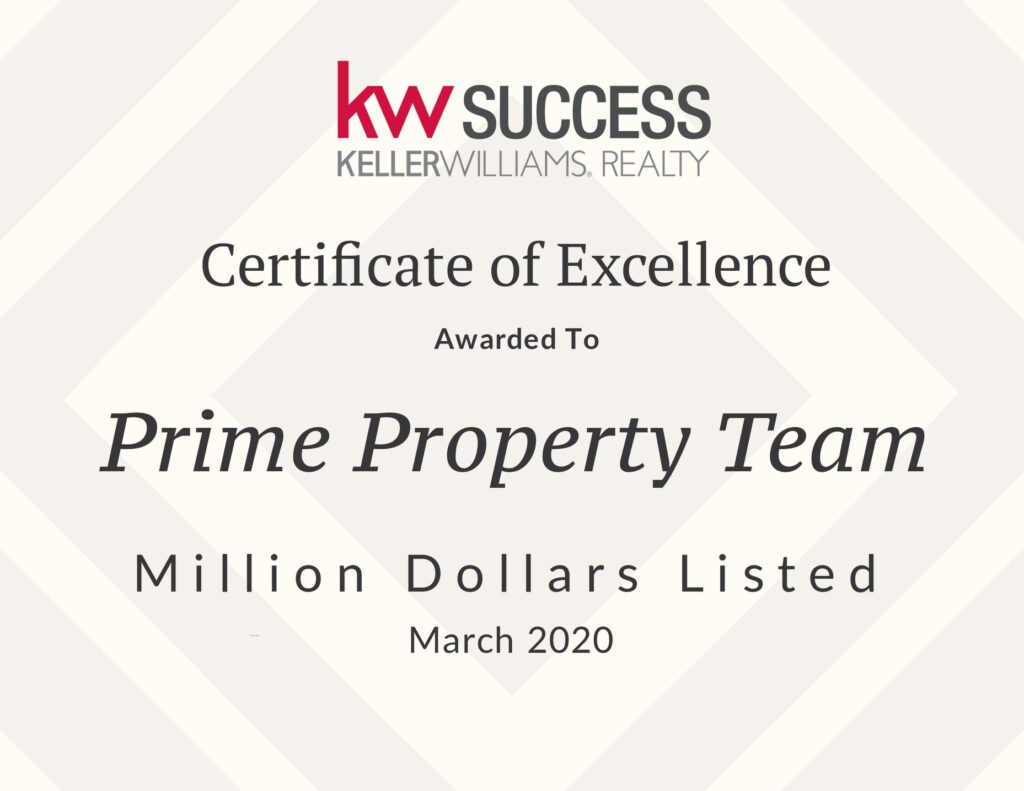 Award - Prime Property Team