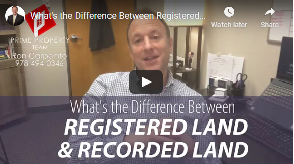 What's the Difference Between Registered & Recorded Land?