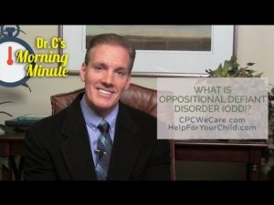 What is Oppositional Defiant Disorder (ODD)? - Dr. C's Morning Minute 171