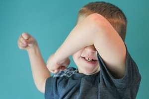 Child and temper tantrums