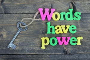 parenting tips- words have power