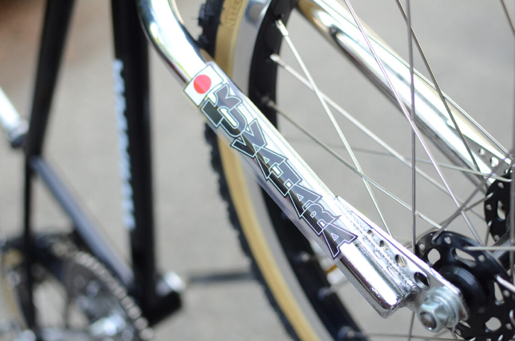 How To Apply a Decal Sticker to your BMX Fork