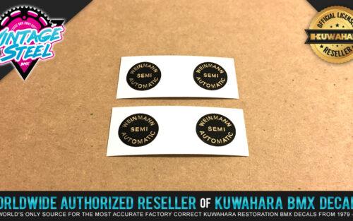 Factory Correct Weinmann Adjuster MX BMX Decal Stickers