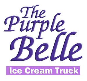 Purple Belle Ice Cream logo