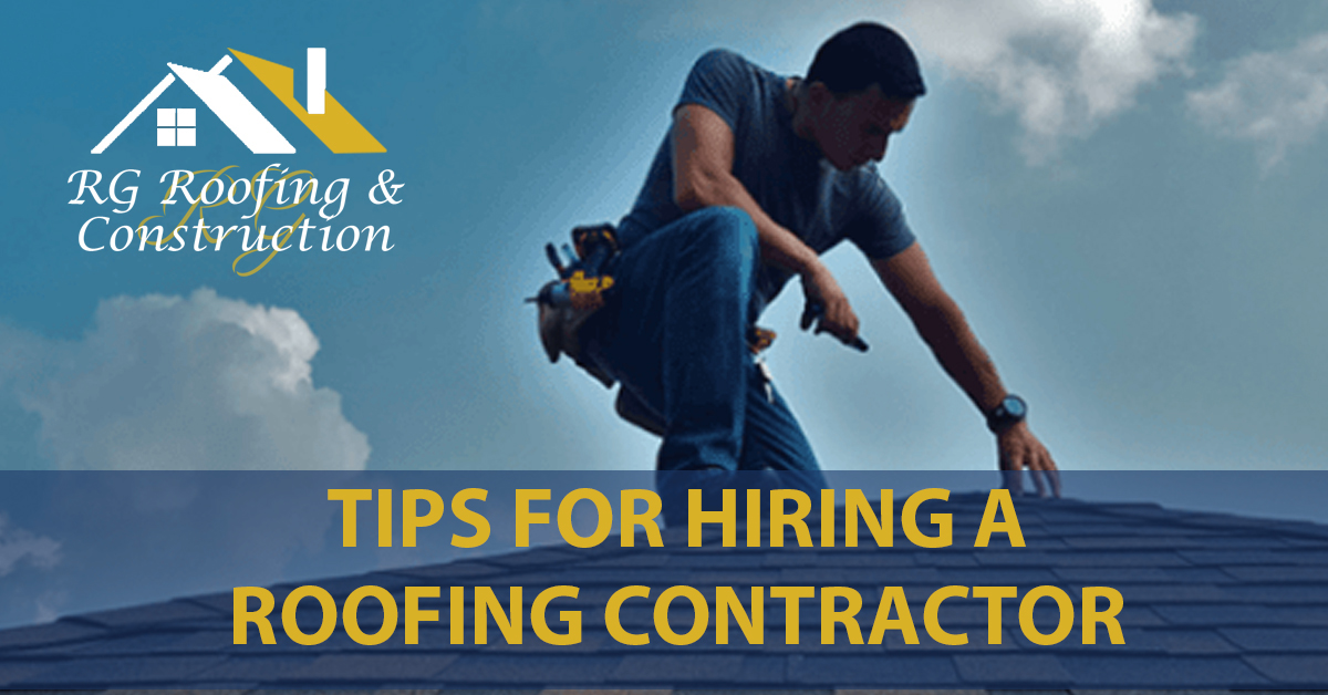 Tips For Hiring A Roofing Contractor