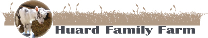 Huard Family Farm Logo