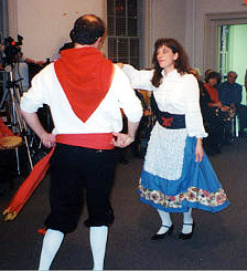 "Philadelphia folk dance group ""Ballerini e Voci d'Italia"""