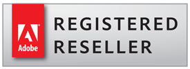 Adobe Registered Reseller Badge