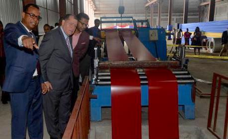 ARC Commissions Metal Slitting Plant