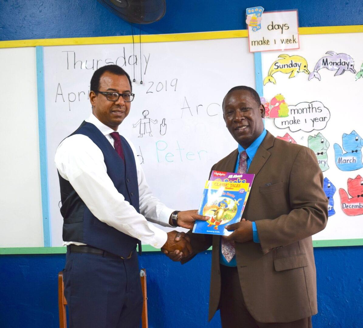 ARC Donates Storybooks to Dupont Primary