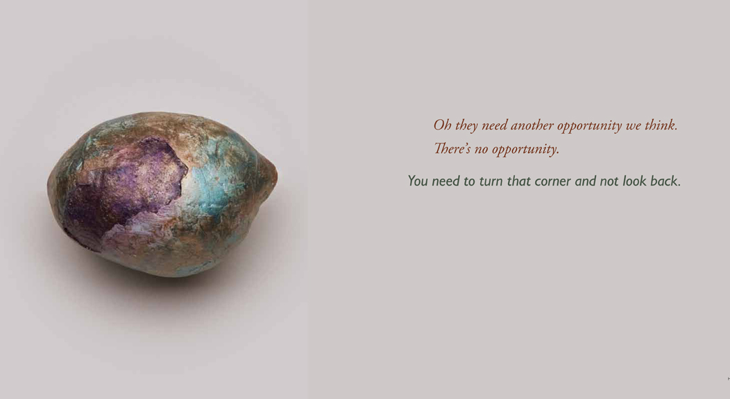 Each pearl is accompanied by the individual's advice and wisdom collected at the end of each workshop