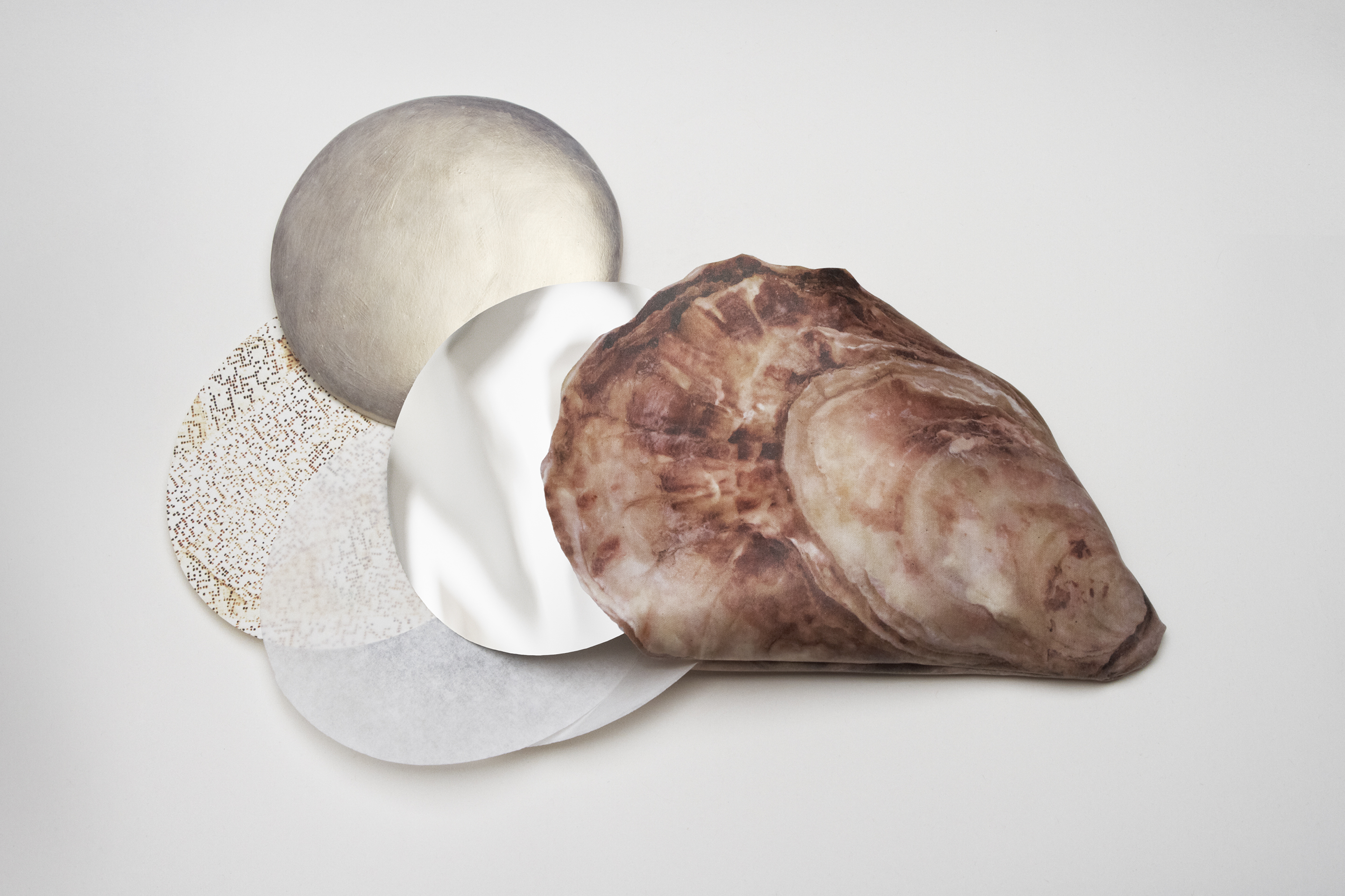 Pearl journals were created for workshops in shelters throughout California so that participants could create pearl discs