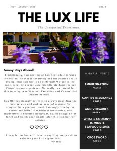 The Lux Life July August 2020