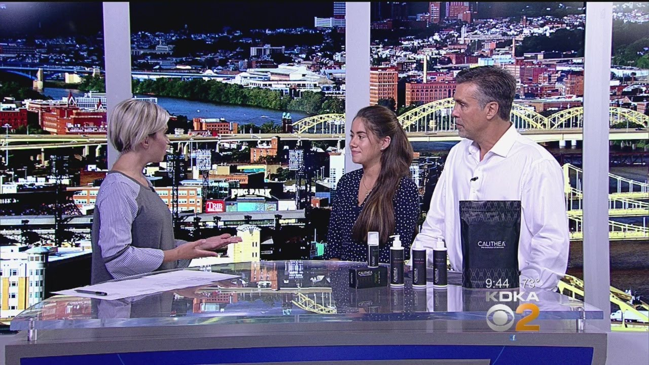 Calithea Skincare Pays a Visit to Pittsburgh Today Live
