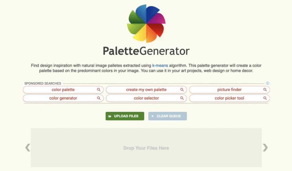 น่าใช้!! Color Palette เว็บไซต์แต่งภาพสำเร็จรูปฟรี วงการไอที โปรแกรมใหม่ ColorPalette