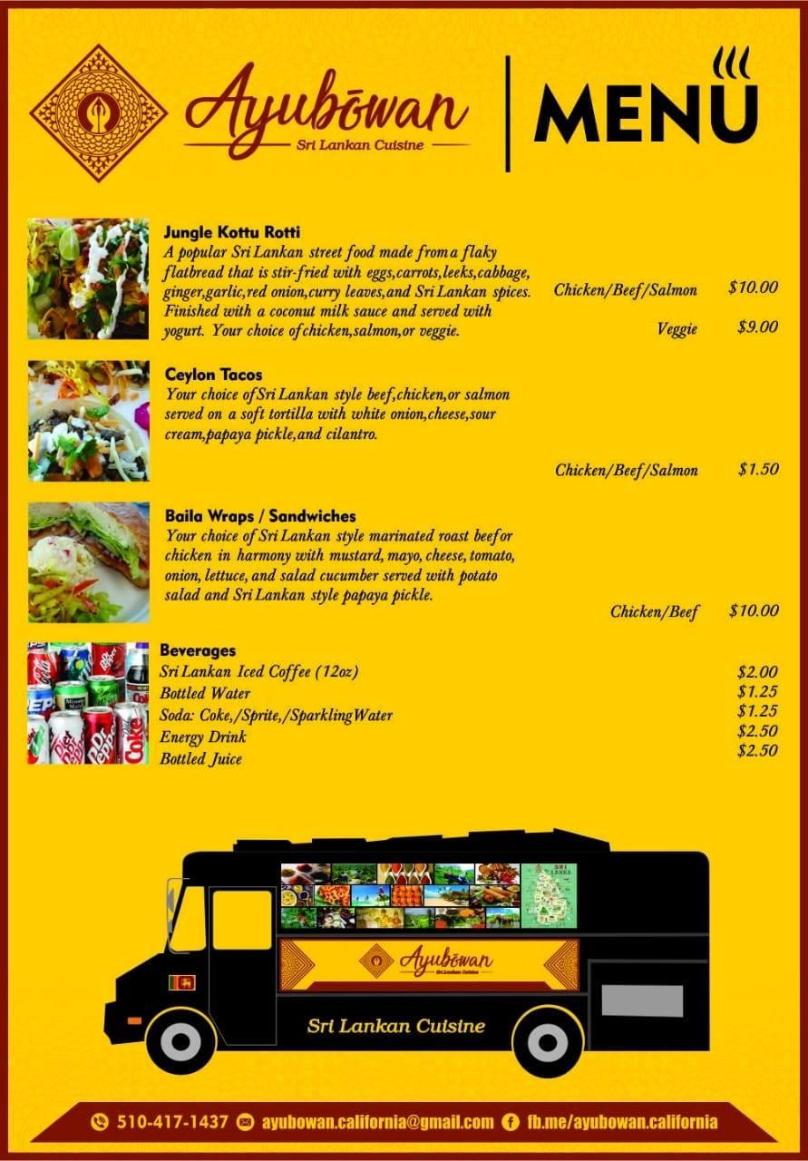 Sri Lankan Food Truck !!!