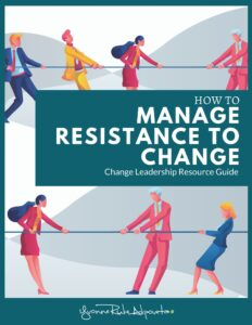 Manage resistance to change book cover
