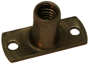 T-Nut, 5/16-18 with mounting holes