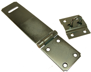 Ultra Safety Hasp with Staple
