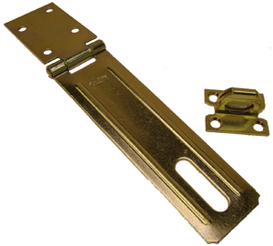 Safety hasp with staple, National Brand