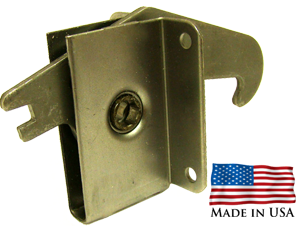 Display Innovations Panel Lock hook, also known as cam lock or roto lock, panel fastening draw latch
