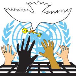 human rights Drug War dove key hands