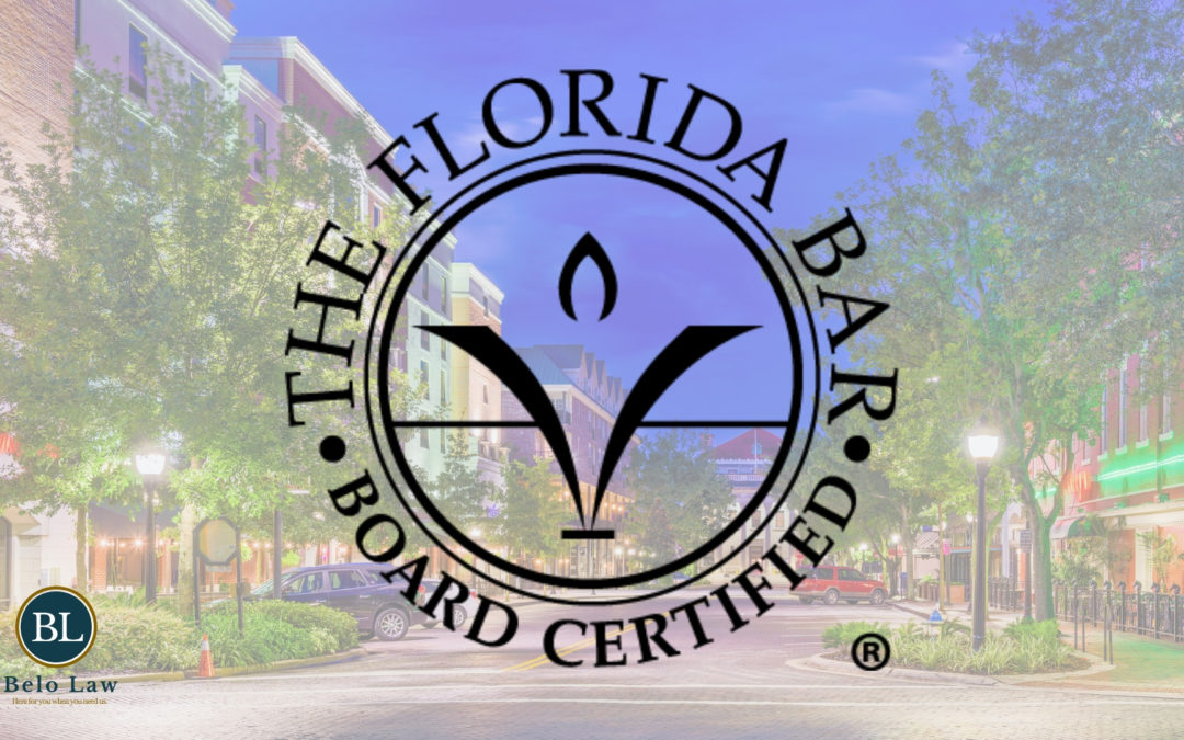 What is a Florida Bar Board Certified Attorney?