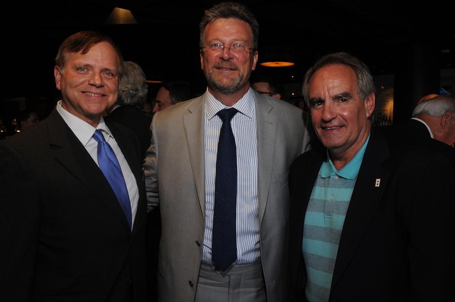 the President's Reception for Steve Wrobel