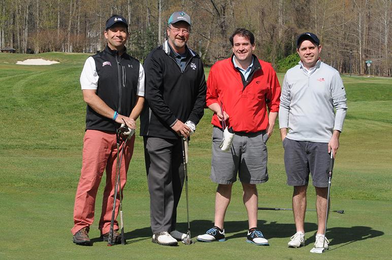 Steven Wrobel at golf event