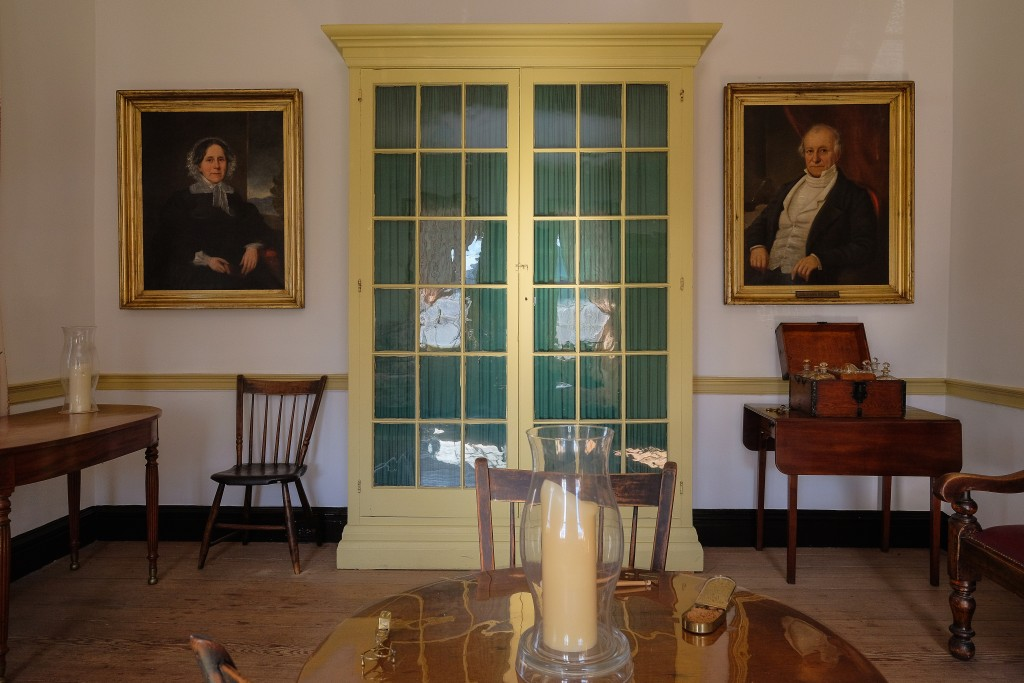 Library in Iredell House