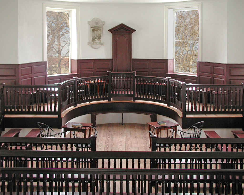 1767 Courthouse Courtroom