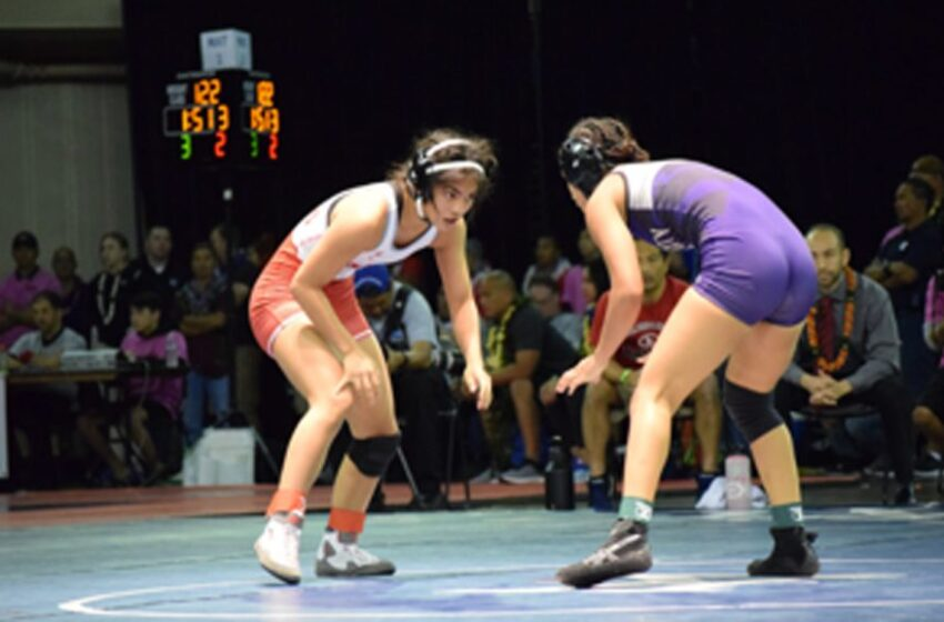 Five Hawaii Girls Wrestlers Are Ranked Nationally