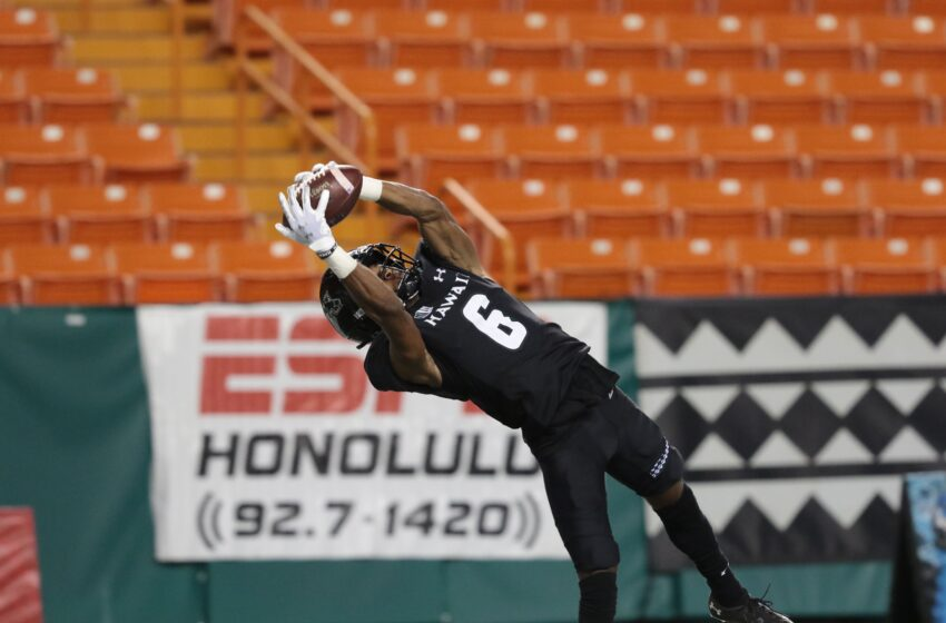 Hawaii Roars Back To Oust Visiting New Mexico 39-33 In Home Opener