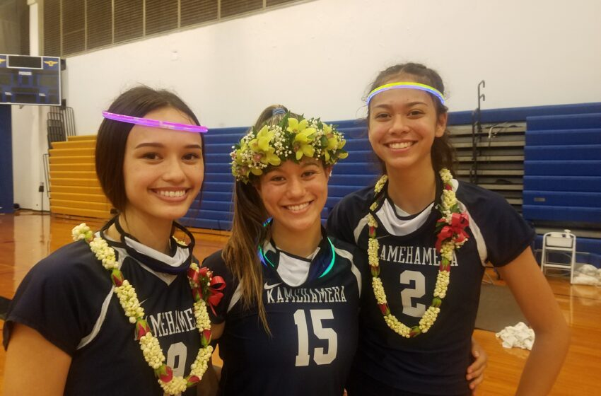 Deep State: Kamehameha's Girls Volleyball Approach Delivers Another ILH Championship