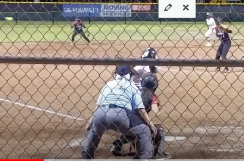 WATCH: Sherreigh Nakoa-Chung's Hit To Give Maryknoll The ILH Softball Championship