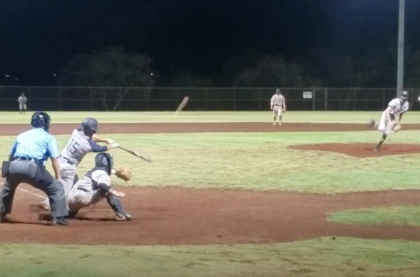WATCH: Punahou's Cade Terada-Herzer Pitches The Final Out In ILH Baseball Semifinal Victory
