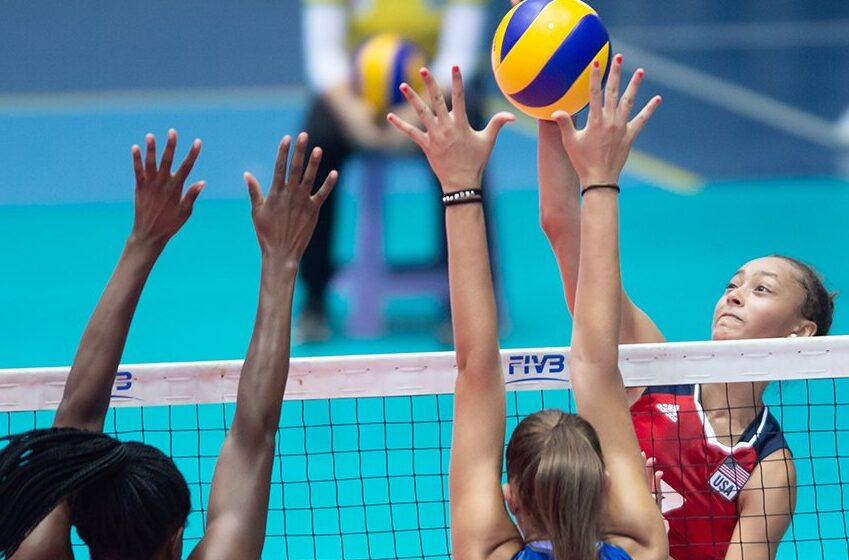 Hawaii's Elena Oglivie And Team USA Place Fifth In U-20 volleyball world championships