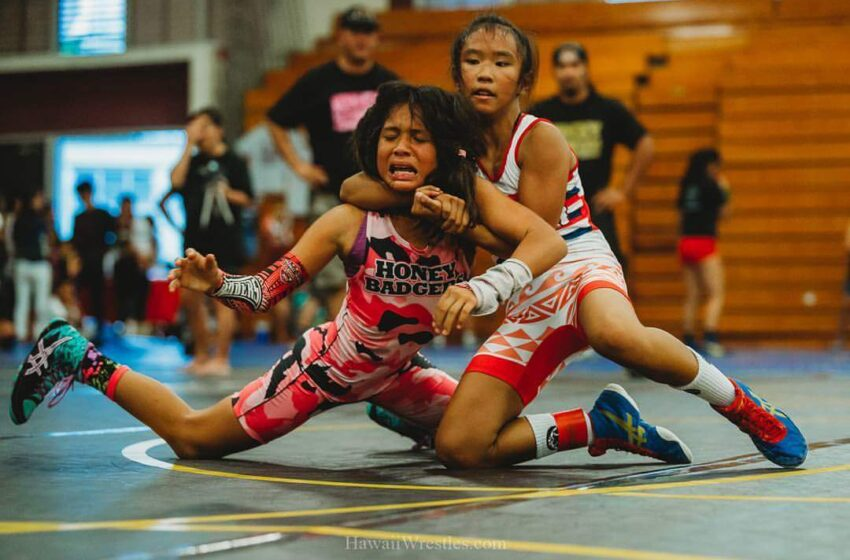 Erin Hikiji And Angelina Daoang Are Among Four Nationally Ranked 2021 Hawaii High School Wrestlers