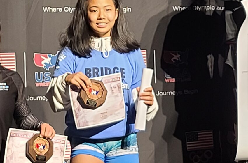 Mililani's Erin Hikiji Becomes Wrestling All-American At Fargo Nationals With Fourth-Place Finish