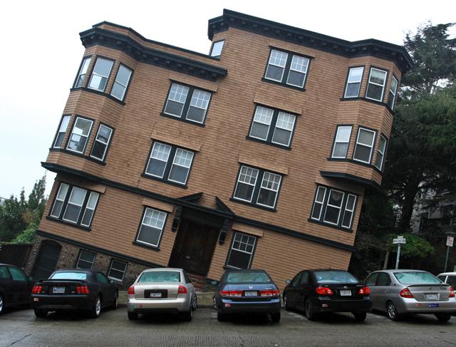 Crazy hill of San Francisco
