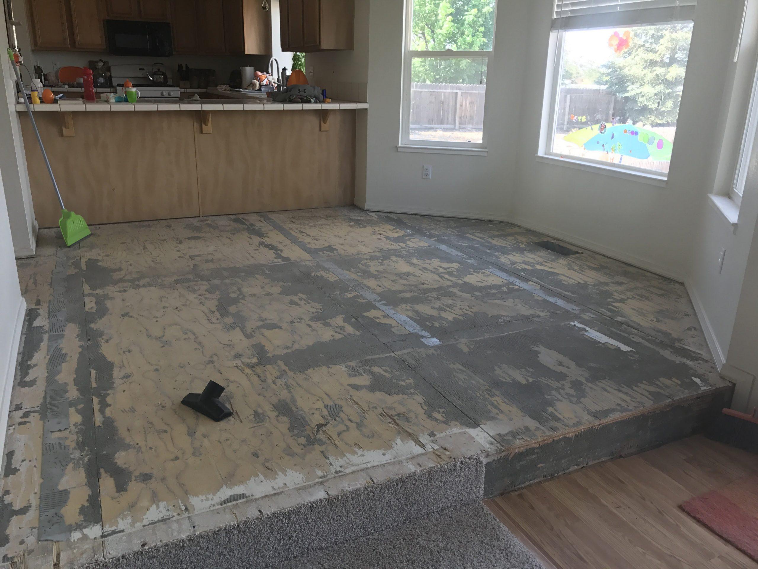tile gone