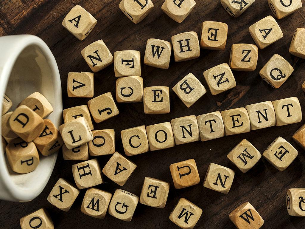 saturación de contenido