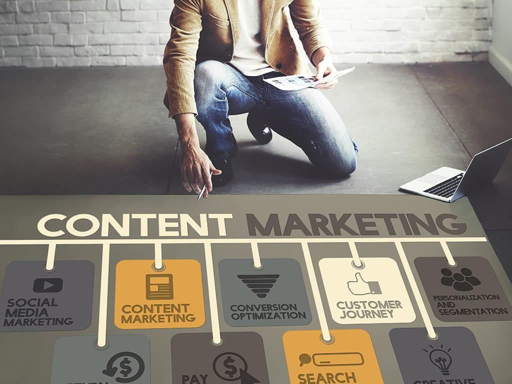 estrategia de contenidos documentación